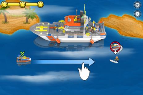 Скриншот LEGO® City Rapid Rescue