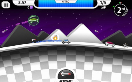 Скриншот Лунный гонщик