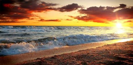 Морские Волны на Закате - thumbnail