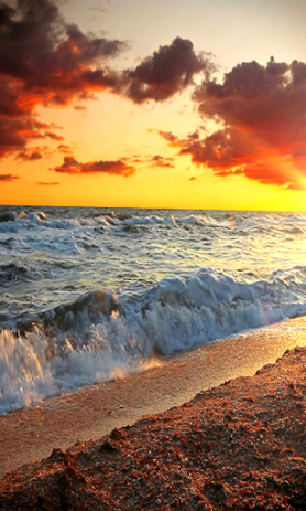 Морские Волны на Закате | Android