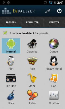 Скриншот звуковые эффекты