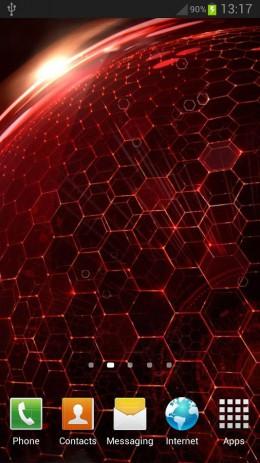 Скриншот Droid DNA живые обои