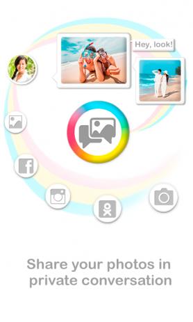 Фото чат & редактор фото | Android