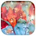 «Galaxy S4 Дождевая капля LWP» на Андроид