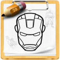 «Как нарисовать героев» на Андроид