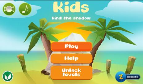Малыш найди тень - развивающая игра для детей - thumbnail