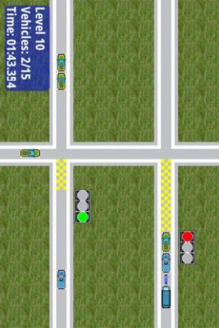 Скриншот управляйте дорожным движением