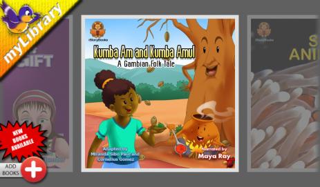Скриншот книжки для детей