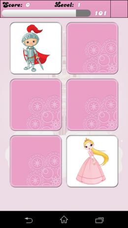 Принцесса - игры для памяти | Android