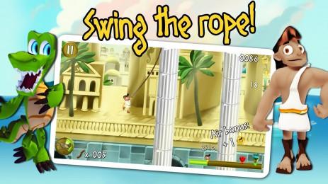 Скриншот Rope Escape Atlantis