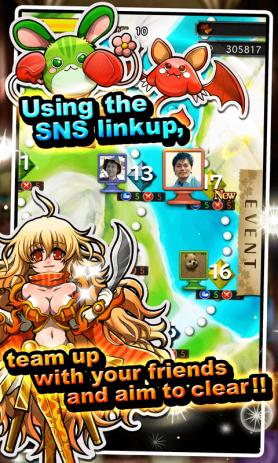 Скриншот Siren Fantasia [Puzzle RPG]