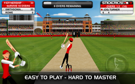 Stick Cricket Partnerships | Android