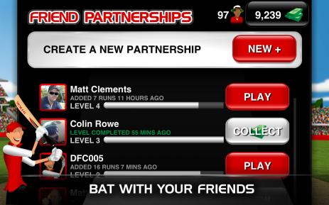 Скриншот Stick Cricket Partnerships