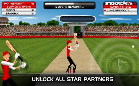 Stick Cricket Partnerships - thumbnail