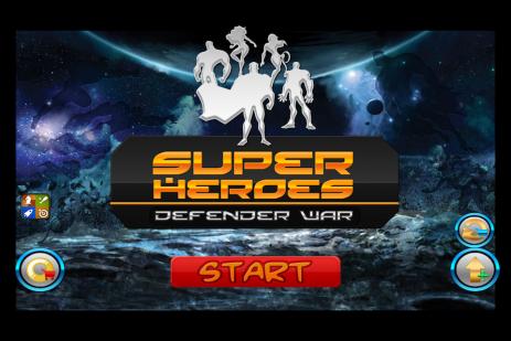 Super Heroes. Defender War - thumbnail