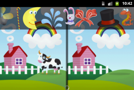 Скриншот Внимательный взгляд для детей