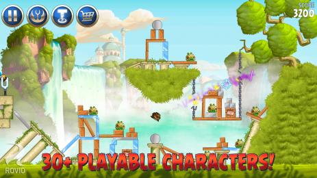 Скриншот Angry Birds Star Wars II Free