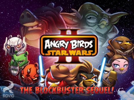 Poster Angry Birds Star Wars II Free