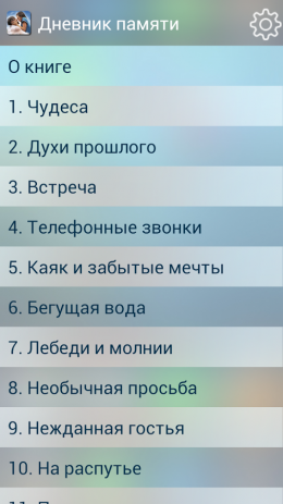 Дневник памяти | Android