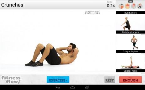 Скриншот Fitness Flow FREE