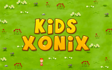 Poster Kids Xonix Game