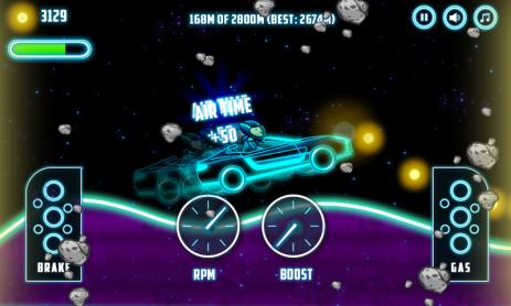 Скриншот Neon Climb Race