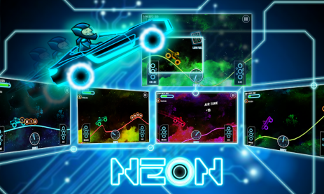 "Poster <span lang=""ru"">Neon Climb Race</span>"