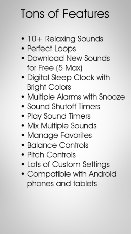 Скриншот White Noise Free