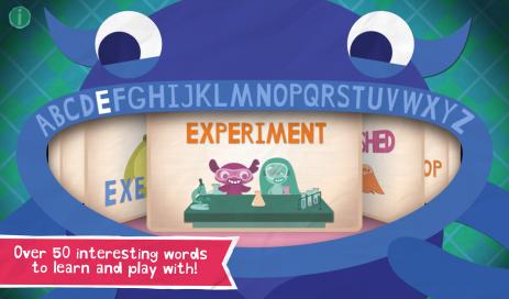 Скриншот Endless Alphabet