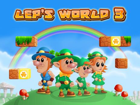 Poster Lep's World 3