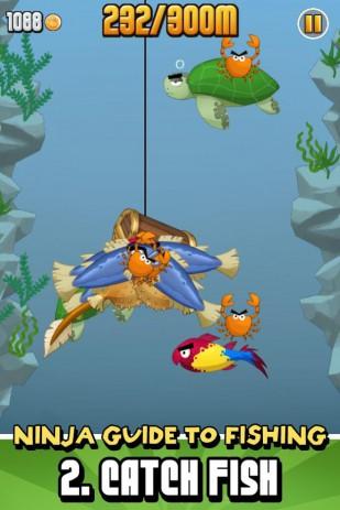 Скриншот Ninja Fishing- ниндзя рыбалка
