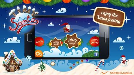 Tiny Santa - Xmas Hills | Android