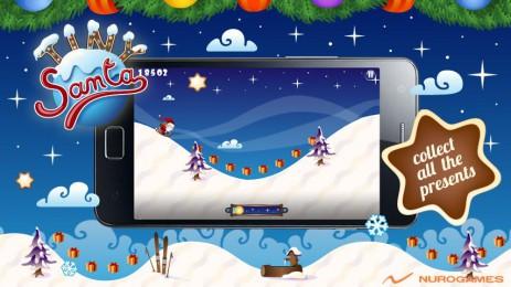 Скриншот Tiny Santa — Xmas Hills