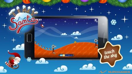 Скриншот Tiny Santa – Xmas Hills