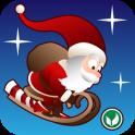 «Tiny Santa — Xmas Hills» на Андроид