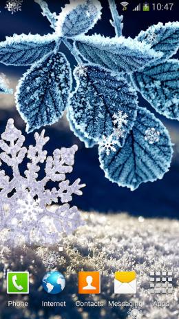 Скриншот Зимние Живые Обои