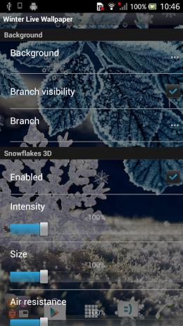 Зимние Живые Обои | Android