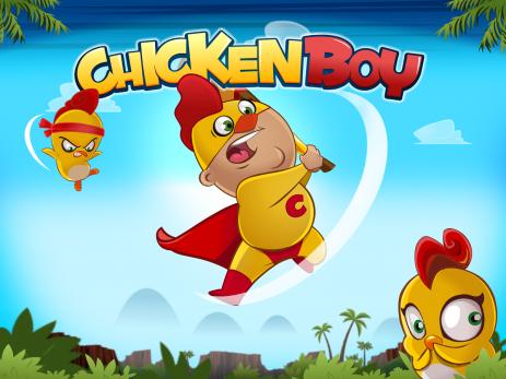 """Poster <span lang=""""ru"""">Chicken Boy</span>"""