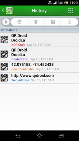 QR Droid™ (Pусский) | Android