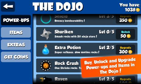 Скриншот Рок Ниндзя