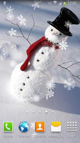 Снеговики Живые Обои | Android