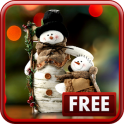 «Снеговики Живые Обои» на Андроид