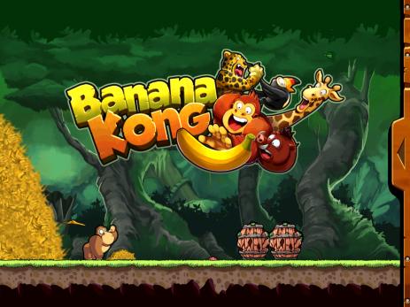 Poster Banana Kong