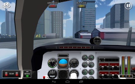 Flight Sim BeachCraft City | Android