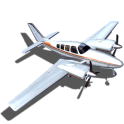 Flight Sim BeachCraft City - icon