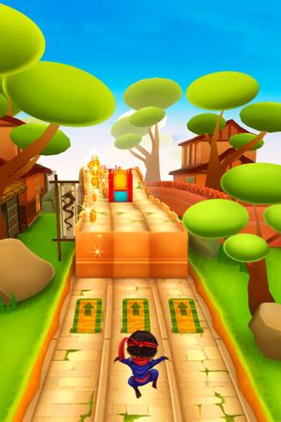 Скриншот Ninja Kid Run: Бесплатный игры