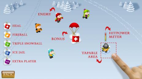 Скриншот снежная битва