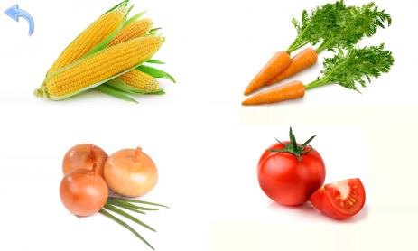 Скриншот Овощи и Фрукты для детей