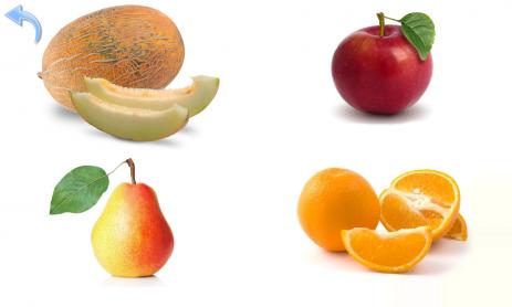 Овощи и Фрукты для детей - карточки для развития памяти | Android