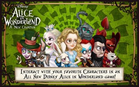 Скриншот Disney Alice in Wonderland